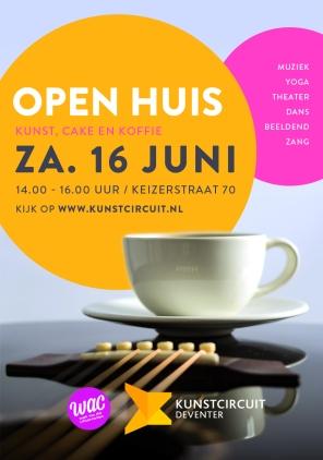 Poster Open Huis Kunstcircuit