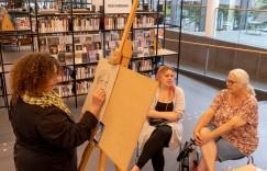 DAK workshop portrettekenen